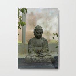 Buddha No. 2 Metal Print