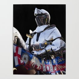Knight and King Richards Standard Poster
