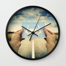 car icon Wall Clock