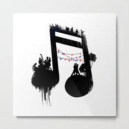 FIESTA Metal Print