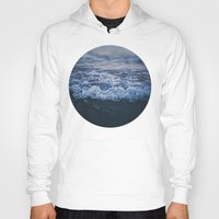 waves Hoodies featuring Waves by Leah Flores
