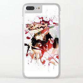 Murder Catfish Clear iPhone Case