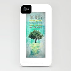 Roots of the Tree iPhone (4, 4s) Slim Case