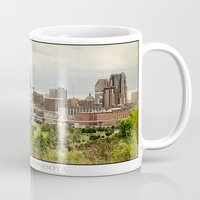 minnesota Mugs featuring St. Paul Minnesota by Kimberley Britt