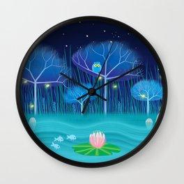 Treescape 3 Wall Clock