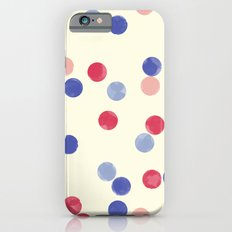 WATERCOLOR CONFETTI iPhone 6s Slim Case