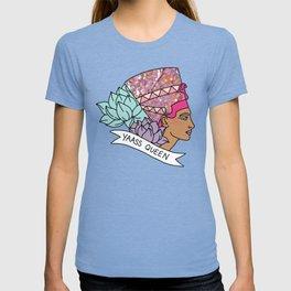 Yas Queen Eyptian Broad City Print T-shirt