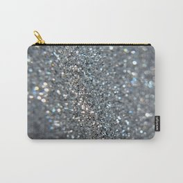 Silver Dust Carry-All Pouch