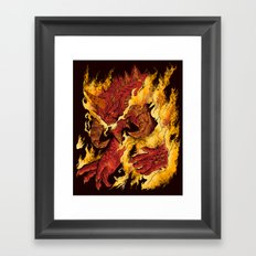 The Lord of Terror Framed Art Print