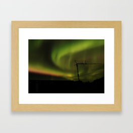 Northern Lights 1 Framed Art Print