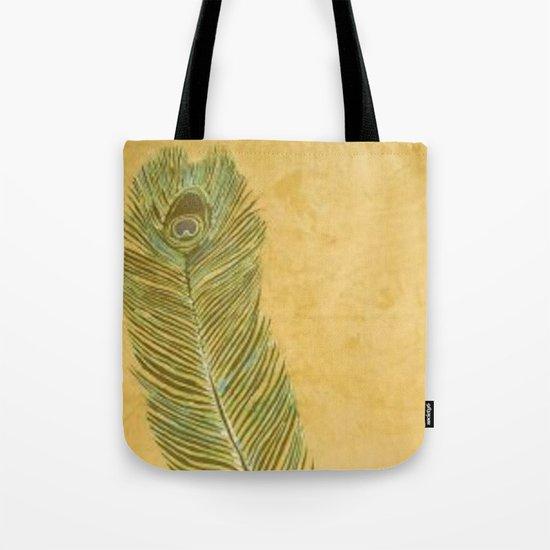 Peacock Batik Tote Bag