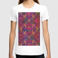 escher T-shirts featuring Escher Tile II by RingWaveArt