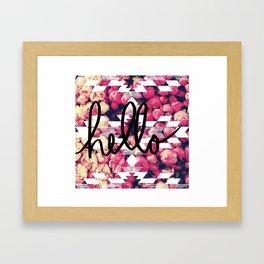 Hello roses! Framed Art Print