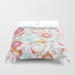 Early Bloomer #society6 #decor #buyart Duvet Cover
