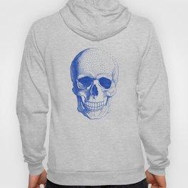 Blue skull Hoody