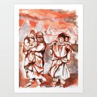 Old Syria- Kids Art Print