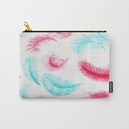 Floating Feathers Carry-All Pouch