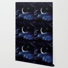 Moon Scene Wallpaper