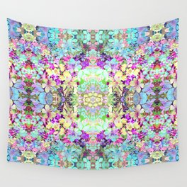 Watercolor Floral Wall Tapestry