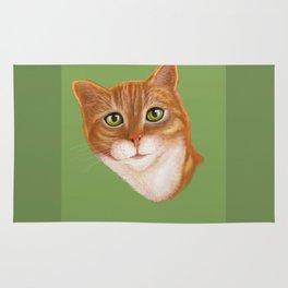 Tabby Cat   Rug