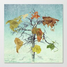 Earth Tree (The Beginnings) Canvas Print