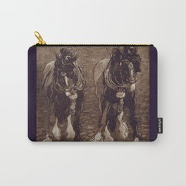 Shires / Horses Carry-All Pouch