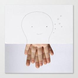Octofingers Canvas Print