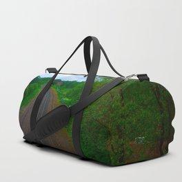 Train Tracks Duffle Bag