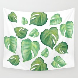 Monstera II Wall Tapestry
