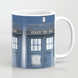 Tardis Coffee Mug