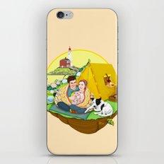 Custom Illustration for Emma and Edward iPhone & iPod Skin