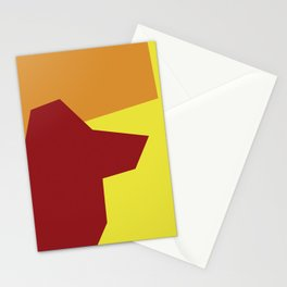 Minimalism Abstract Colors #5 Stationery Cards