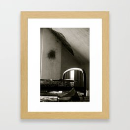 Abanoned life Framed Art Print