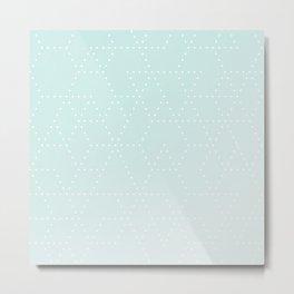 Hannah Hexagon Metal Print