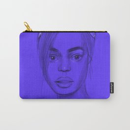 Joan in purple Carry-All Pouch
