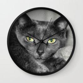 Cats Eyes Wall Clock
