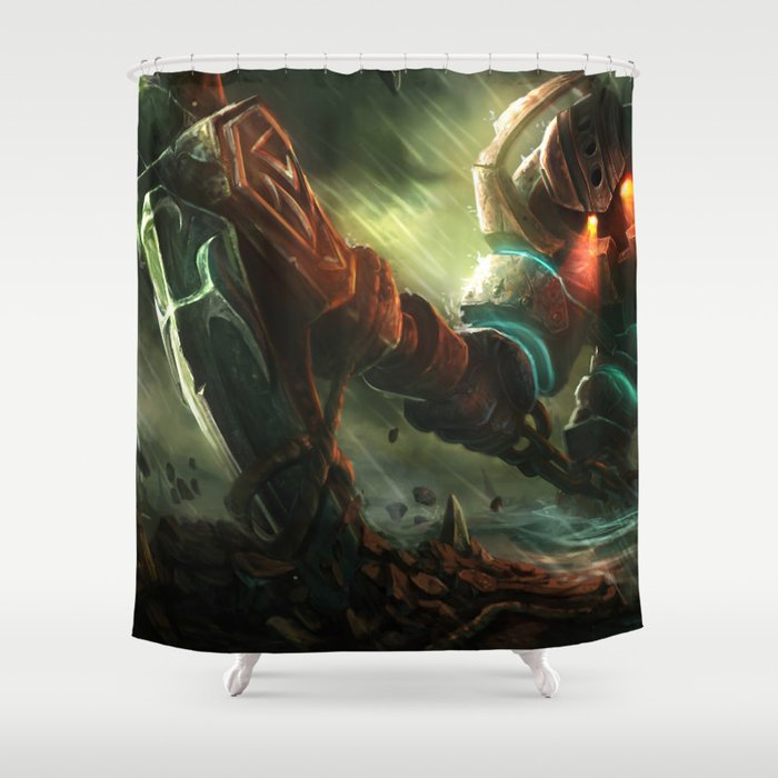 Classic Nautilus League Of Legends Shower Curtain By Mrfattemi