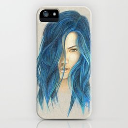 """Blue"" iPhone Case"
