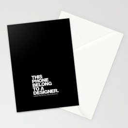 STEREOTYPE Stationery Cards