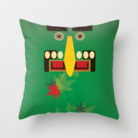 canada Throw Pillows featuring Canada by LG Design