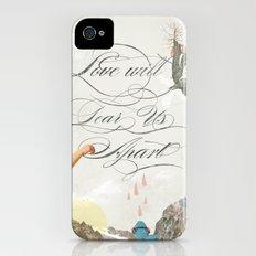 L.W.T.U.A (Love will tear us apart) Slim Case iPhone (4, 4s)