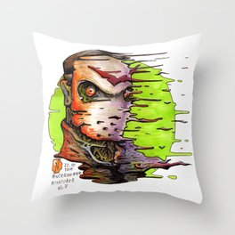 Nitroinktober_2014_07 Throw Pillow