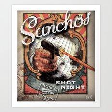 Sanchos Art Print