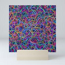 Scribble Synapse Mini Art Print