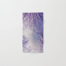 The Trees - Crisp n' Purple Hand & Bath Towel