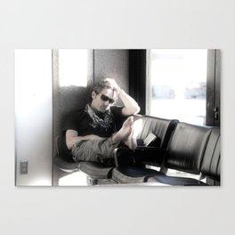 Airport Malaise Canvas Print