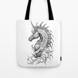Dark Side Unicorn Tote Bag