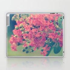Pink Crape Myrtle Flowers Laptop & iPad Skin