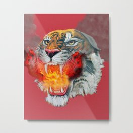 Burn Inside Metal Print