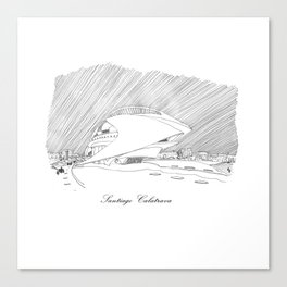Santiago Calatrava Canvas Print